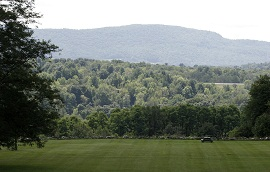 Bennington College view